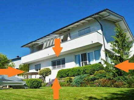 ALTENBERG bei Linz: EIGENTUMSWOHNUNG ca.145 m2 Wohnfläche - IHR WOHN(T)RAUM IN ABSOLUTER PREMIUMLAGE