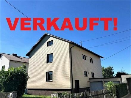 ANSFELDEN/HAID (Kremsdorf): TOP GELEGENHEIT -Vollunterkellertes Wohnhaus mit ca. 171m2 Wohnnutzfläche, Doppelgarage