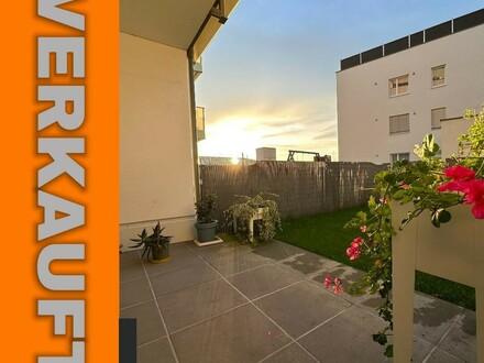 Steyregg: GARTENEIGENTUMSWOHNUNG mit ca. 77m² Wohnfläche + LOGGIA - IHR NEUBAU-Wohntraum im WOHNPARK Steyregg - Rohbaufertigstellung…