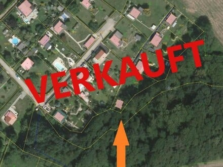Leonding: GRUNDSTÜCK (mit Abbruchobjekt) ca. 579 m2 Gesamtfläche (Kleingarten-Siedlungsgebiet)