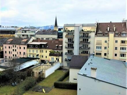 Linz/Stadt: Zentral gelegene 2 Zimmerwohnung in der Bürgerstraße mit ca. 44m² Wfl