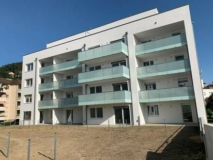 Steyregg: EIGENTUMSWOHNUNG mit ca. 63m² Wohnfläche + X-Large BALKON - IHR NEUBAU Wohntraum im WOHNPARK Steyregg - Rohbaufertigstellung…