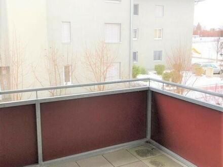 Pasching: Ca 54m² Mietwohnung in Pasching Westzeile mit BALKON
