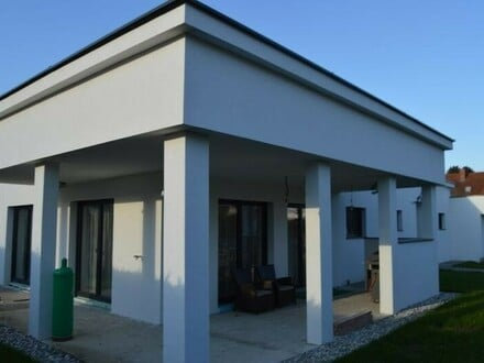 PIBERBACH (Grenze Neuhofen/Krems): LAND.LEBEN - Höchste Wohnqualität - BUNGALOW mit DOPPELGARAGE (Baujahr 2016)