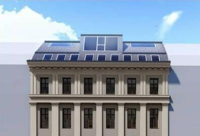 Altbau und Neubau: Exquisite Maisonette mit Balkon + Terrasse mitten im Servitenviertel