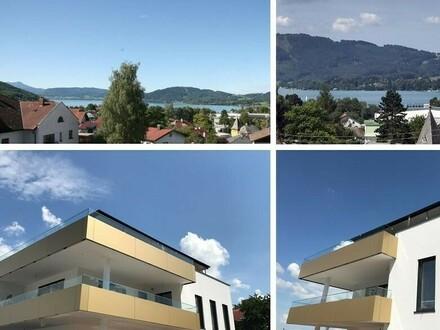 Einzigartiges Wohnerlebnis mit südwestseitiger Terrasse und Attersee-Blick ERSTBEZUG