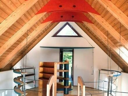 Modern + architektonisch außergewöhnliches Einfamilienhaus