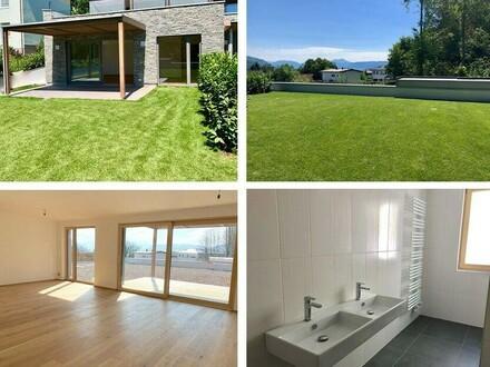 NUR € 3.250/m²: Gartenwohnung am ATTERSEE mit 60 m² Eigengarten - ERSTBEZUG