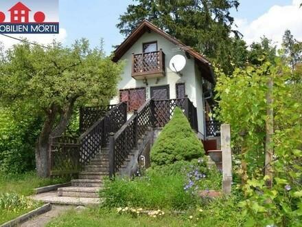 Kleingartenhaus auf schöner Parzelle am Wolfersberg