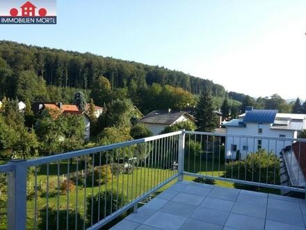 DACHGESCHOSSWOHNUNG mit Gemscheinschaftsgarten in Neulengbach