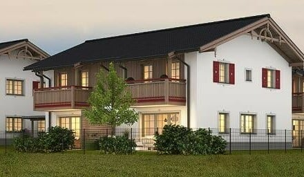 Traumhafte 2-Zimmer Neubauwohnung in Mattsee mit Seeblick