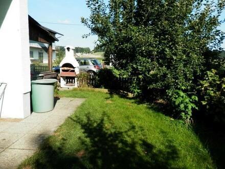 3.Zi.-Wohnung mit Terrasse u. Gartenmitbenutzung