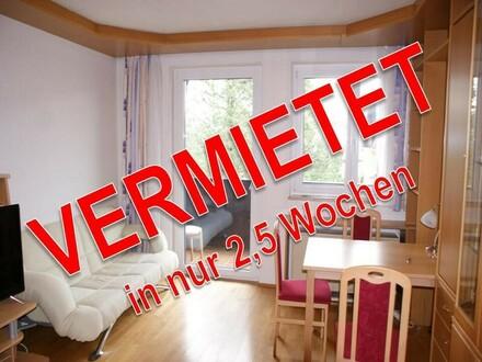 ERFOLGREICH VERMIETET - Voll möblierte 2.Zi.-Wohnung mit Balkon