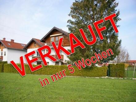 Tolle 4.Zi.-Wohnung mit Grünlandblick und Garage