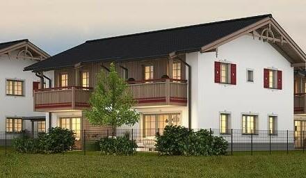 Exklusive 2-Zimmer Neubau-Gartenwohnung mit Seeblick