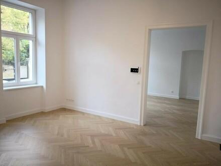 Riglergasse! Altbau-Erstbezug! 3,5 Zimmer-Altbauwohnung im uneinsichtigen Hochparterre!