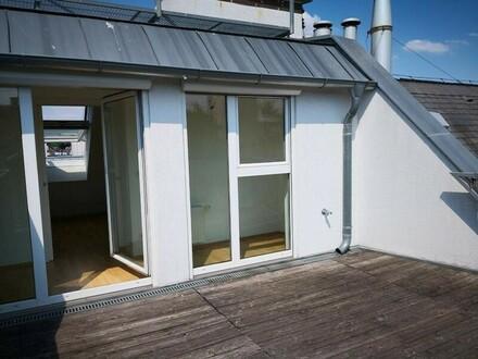Plenergasse! DG-Maisonette mit Terrasse und Fernblick!