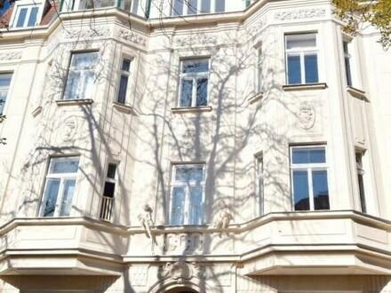 Geylinggasse! Großzügige DG-Maisonette mit Terrasse und Balkon in sehr schöner Altbauliegenschaft