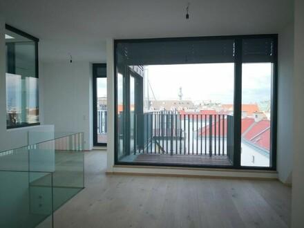 Sechsschimmelgasse! Luxuriöser DG-Erstbezug mit 41 m2 Terrassen! T34