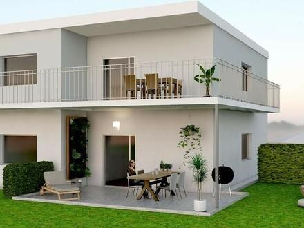 Traumhafte Wohnung mit großem Balkon und direktem Zugang zum Eigengarten