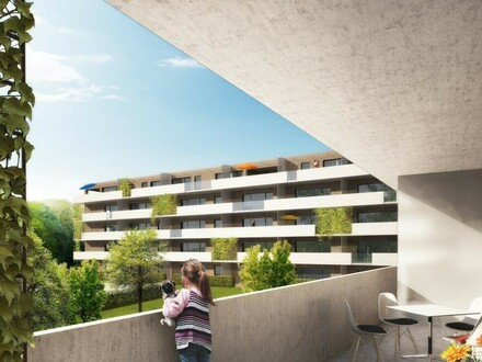 ERSTBEZUG - 55 m² - Mietwohnung auf der Ennsleite