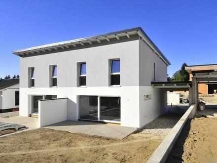 DOPPELHÄLFTE am DAMBERG mit 477 m² Eigengrund!