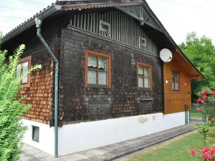 sonniges, ruhiges Grundstück mit Minihaus im Reichenschwall - Stadt-Idylle im Herzen von Steyr
