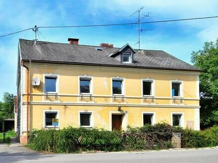 Solides, renovierungsbedürftiges Mehrfamilienhaus in Steyr!