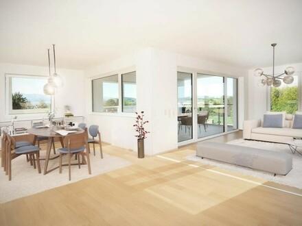 156 m² Mietwohnung mit 39 m² grosser Terrasse und traumhafter Aussicht!