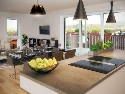 Exklusive Terrassen-Wohnung in Steyr - einzigartiger, unverbaubarer Panoramaausblick garantiert, Lage zentral und renommiert!