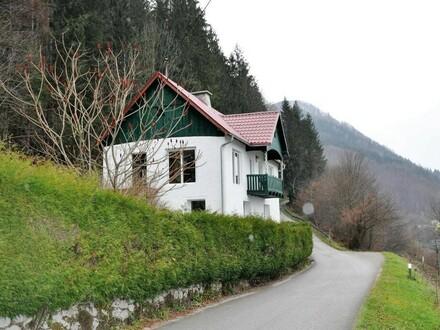 Ortsrandlage: bezugsfertiges Haus mit Wald, Wiese, Weit- und Wasserblick - Wohlfühlplatz mit Charme & Extra-Lebensraum