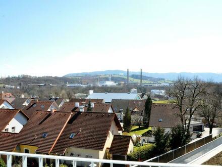 Erstbezug in Steyr: top ausgestattete Wohnung in renommierter, zentraler Lage - Panoramablick garantiert!