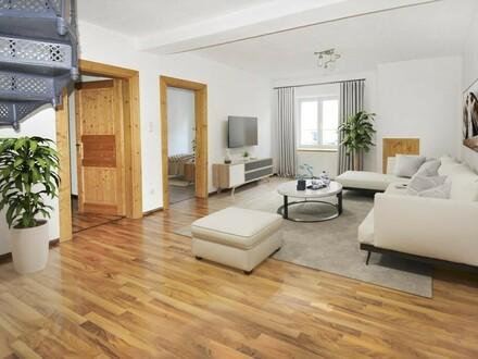 Wohnung mit Küche und Gemeinschaftsterrasse in Steyr Unterhimmel - Hunde erlaubt!