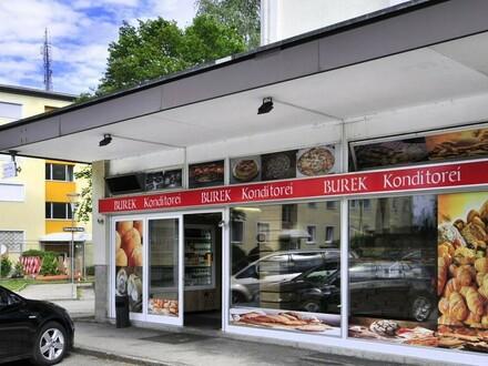 Geräumiges u. barrierefreies Gastronomielokal in belebter Lage zu mieten!