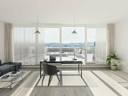Moderne Eigentumswohnungen mit großzügiger Dachterrasse und Traunsteinblick!