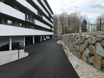 PKW Tiefgaragenplätze in Steyr-Hubergutberg zu vermieten