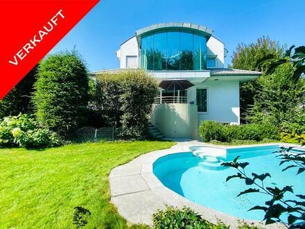 Traumhaftes Architektenhaus in Welser Bestlage!