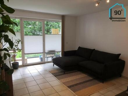 Herrnau: Top 2 Zimmer Wohnung mit Balkon u. Tiefgarage
