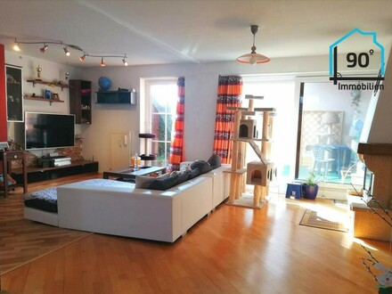Seltene Chance, 5-Zimmer-Wohnung in Top-Lage mit uneinsehbarer Terrasse