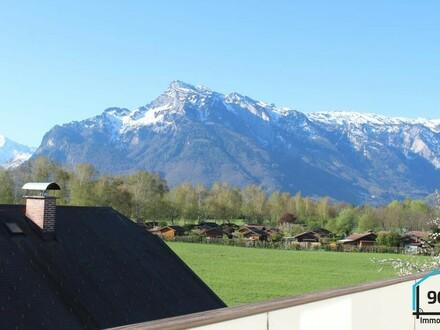 Renovierte Dachgeschosswohnung mit Ausblick in Maxglan