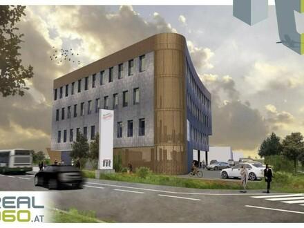 Jetzt wird gebaut! DIREKT AN DER TRAUNERKREUZUNG! Bürofläche mit ca. 257m² nach Ihren Wünschen!!