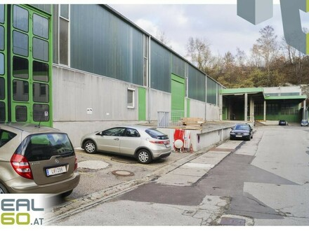 Lagerfläche mit ca. 1500 m² im Zentrum von Linz zu vermieten!