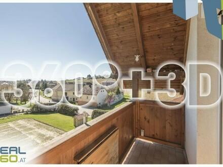 LEONDING - Charmante Dachgeschosswohnung in grüner Umgebung (zentrumsnah)!