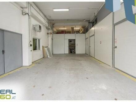 Lagerfläche samt Büro und Rolltor in Linz-Kleinmünchen zu vermieten!