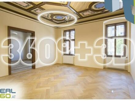 Einzigartiger BÜRO(t)RAUM im generalsanierten Palais Löwenfeld in Linz-Kleinmünchen zu mieten!