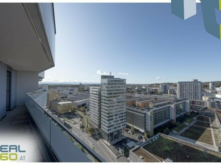 NEUBAU - 2-Zimmer Wohnung mit großer Wohnküche und riesigem Balkon zu vermieten - LENAUTERRASSEN!