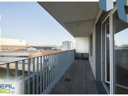 Kompakte 2-Zimmer Wohnung mit großer und ruhiger Loggia!