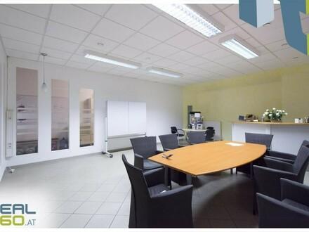 Klimatisierte ebenerdige Bürofläche in Linz-Hörsching zu vermieten!
