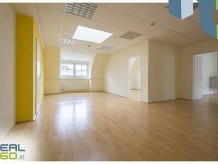 Optimal aufgeteilte Bürofläche mit ca. 180m² in zentraler Lage von Wels zu vermieten!