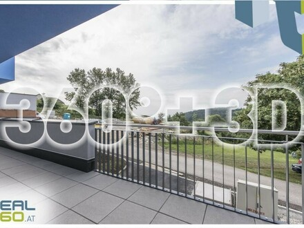 NEUBAU! Projekt ALPENBLICK - Bezugsfertige und großzügige 4-Zimmer-Wohnung | Terrasse 50m² + Grünfläche 30m² |